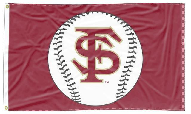 Florida State - Seminoles Baseball 3x5 Flag