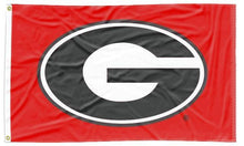 Load image into Gallery viewer, Georgia - Bulldogs Red 3x5 Applique Flag