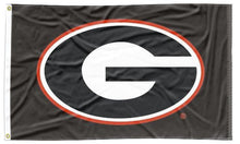 Load image into Gallery viewer, Georgia - UGA Black 3x5 Flag