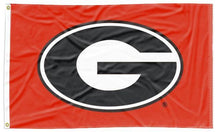 Load image into Gallery viewer, Georgia - UGA Red 3x5 Flag