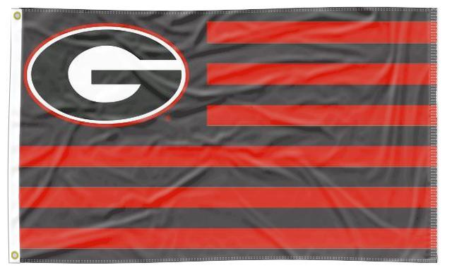 Georgia - Bulldogs National 3x5 Flag