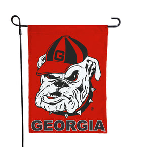Georgia - Dawgs Red Garden Flag