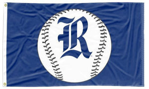 Rice University - Owls Baseball Blue 3x5 Flag