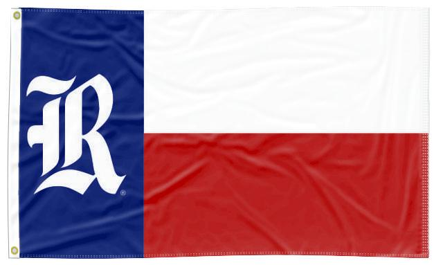 Rice University - State of Texas 3x5 Flag