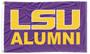 LSU - Alumni Purple 3x5 Flag