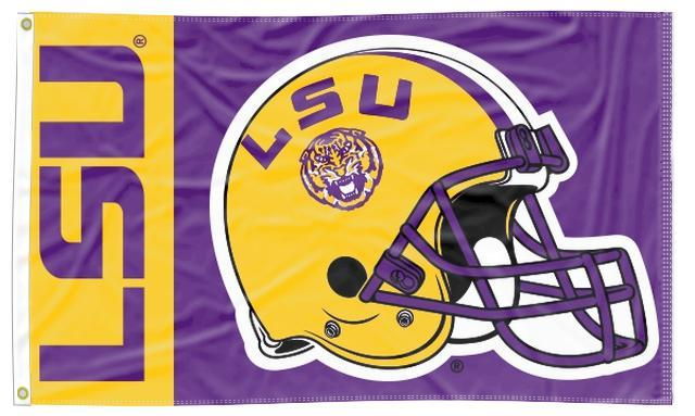 LSU - Tigers Football 3x5 Flag