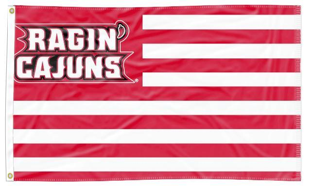 Louisiana Lafayette- Ragin Cajuns National 3x5 Flag