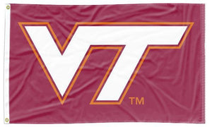 Virginia Tech - Hokies Maroon 3x5 Flag
