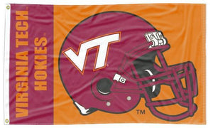 Virginia Tech - Hokies Football 3x5 Flag
