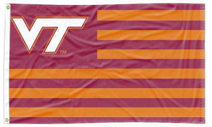 Virginia Tech - Hokies National 3x5 Applique Flag