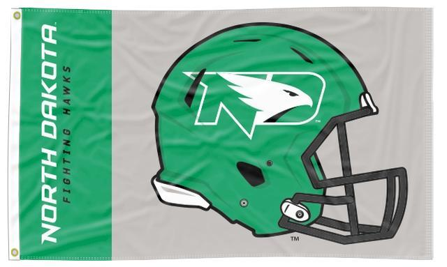 North Dakota - Fighting Hawks Football 3x5 Flag