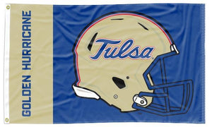 Tulsa - Golden Hurricane Football 3x5 Flag