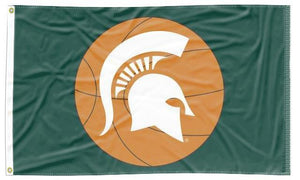 Michigan State - Spartans Basketball 3x5 Flag