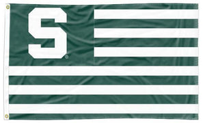 Michigan State - Spartans National 3x5 Applique Flag