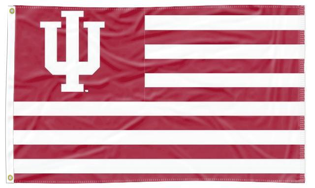 Indiana - Hoosiers National 3x5 Applique Flag