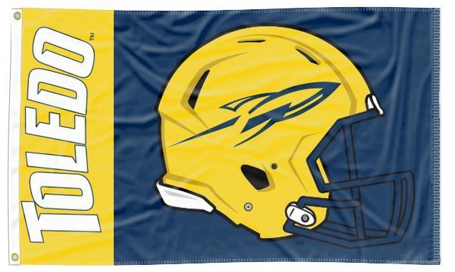 Toledo - Rockets Football 3x5 Flag