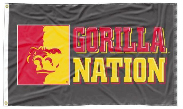 Pitt State - Gorilla Nation 3x5 Flag