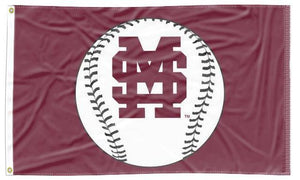 Mississippi State - Bulldogs Baseball 3x5 Flag