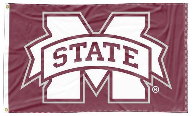 Mississippi State - M State 3x5 Flag
