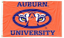 Load image into Gallery viewer, Auburn - Tiger Eyes Orange 3x5 Flag
