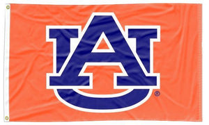 Auburn - AU Orange 3x5 Flag
