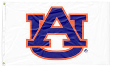 Load image into Gallery viewer, Auburn - AU White 3x5 Flag