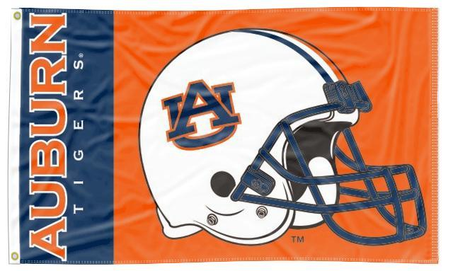 Auburn - Tigers Football 3x5 Flag