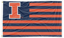 Load image into Gallery viewer, Illinois - Fighting Illini National 3x5 Flag