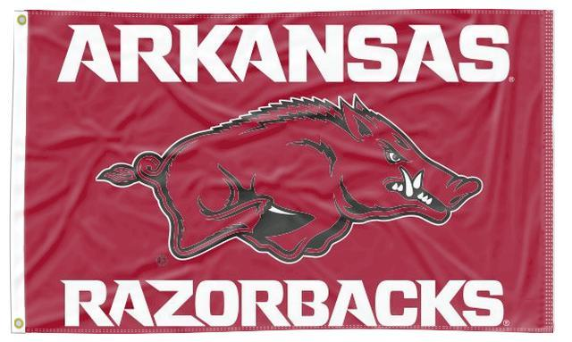 Arkansas - Razorbacks 3x5 Flag