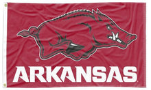 Load image into Gallery viewer, Arkansas - Razorbacks Red 3x5 Flag