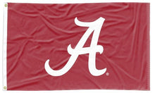 Load image into Gallery viewer, Alabama - Crimson Tide Red 3x5 Applique Flag