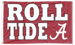 Alabama - Roll Tide A 3x5 Flag