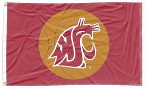 Washington State - Cougars Basketball 3x5 Flag