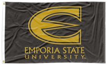 Load image into Gallery viewer, Emporia State - Hornets Black 3x5 Flag