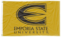 Load image into Gallery viewer, Emporia State - Hornets Gold 3x5 Flag