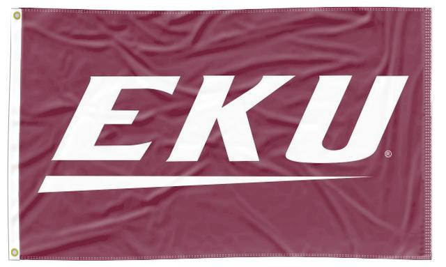 Eastern Kentucky - Colonels 3x5 Flag
