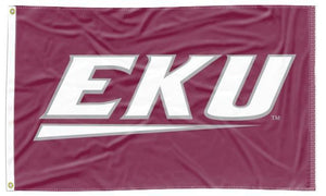 Eastern Kentucky - Colonels Maroon 3x5 Flag