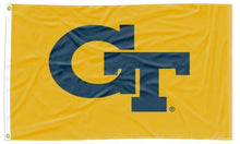Load image into Gallery viewer, Georgia Tech - GT Gold 3x5 Applique Flag