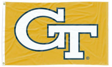 Load image into Gallery viewer, Georgia Tech - Yellow Jackets Gold 3x5 Flag