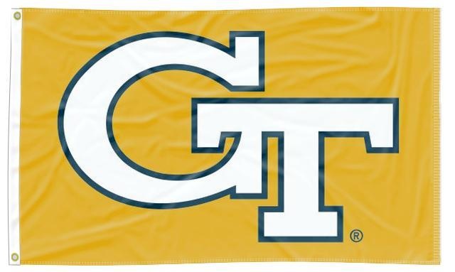 Georgia Tech - Yellow Jackets Gold 3x5 Flag