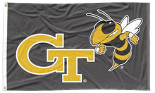 Load image into Gallery viewer, Georgia Tech - GT Yellow Jackets Black 3x5 Flag