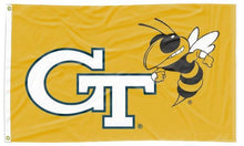 Load image into Gallery viewer, Georgia Tech - GT Yellow Jackets Gold 3x5 Flag