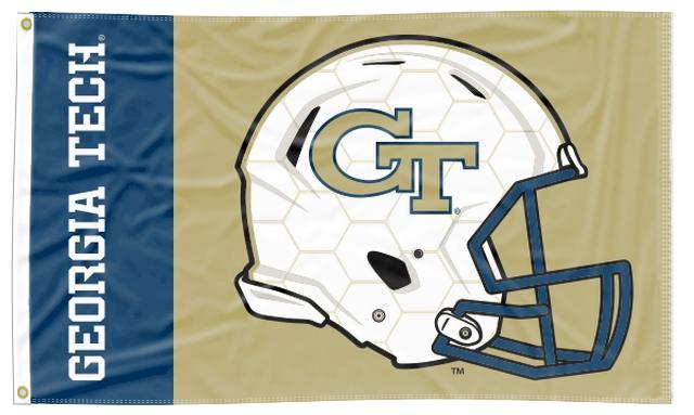 Georgia Tech - Yellow Jackets Football 3x5 Flag