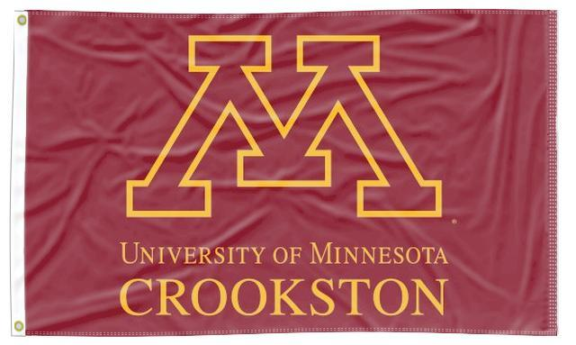 Minnesota - M Crookston 3x5 Flag