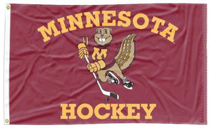 Minnesota - Hockey 3x5 Flag