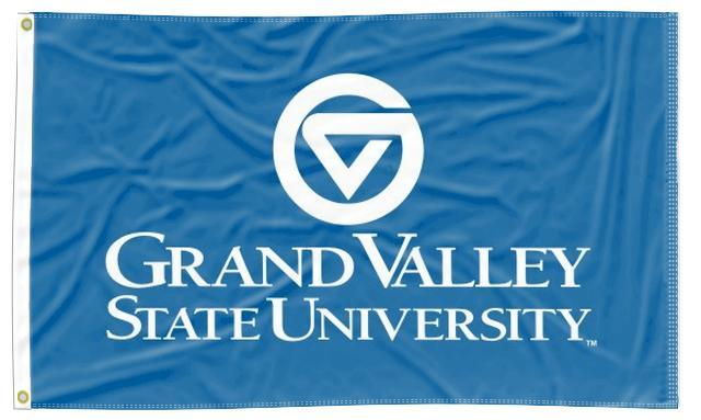 Grand Valley State - University Blue 3x5 Flag