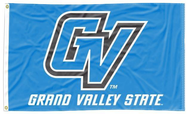 Grand Valley State - GVSU Lakers Blue 3x5 Flag
