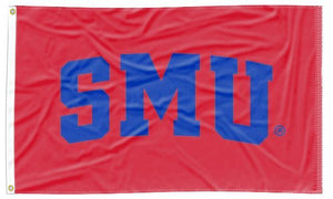 Southern Methodist - SMU Red 3x5 Flag