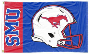 Southern Methodist - Mustangs Football 3x5 Flag