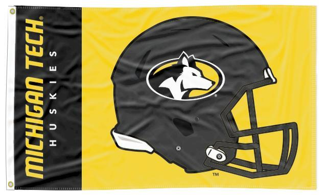 Michigan Tech - Huskies Football 3x5 Flag